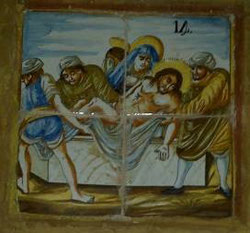 Via Crucis XIV, Santa Clara Molina de Aragón