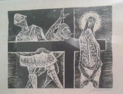 I Estación, Jesús Condenado a Muerte