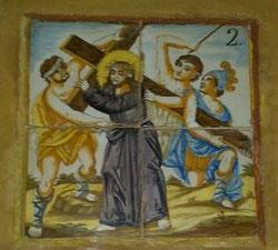 Via Crucis II; Santa Clara, Molina de Aragón