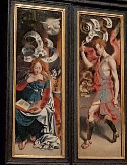 Anunciación, catedral de Colonia (Alemania)