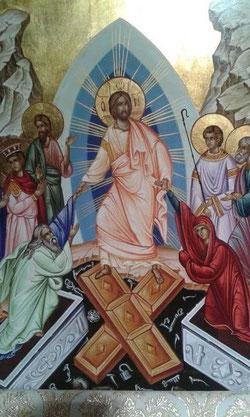 Icono que se venera este tiempo en la catedral Melquita de Jerusalén