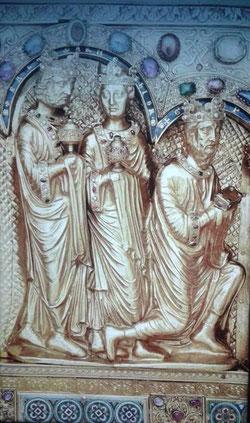 Relicarios de los Reyes Magos, catedral de Colonia (Alemania)
