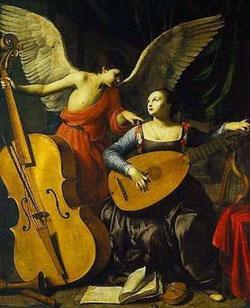 Cantad al Señor un cántico nuevo,  porque ha hecho maravillas:  Tañed la cítara para el Señor,  suenen los instrumentos:  con clarines y al son de trompetas,  aclamad al Rey y Señor