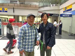カルガリー空港でツアー終了、ありがとうございました!