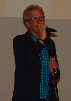 (Foto: Peer auf der Bühne in Bad Eilsen)