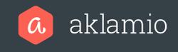 freaky finance, freaky travel, Aklamio Logo, rot, weiß, grauschwarz