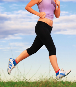 El jogging o carrera suave, el mejor ejemplo de trote humano