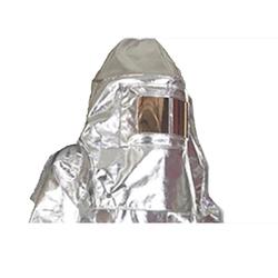 escafandra de traje de bombero aluminizado, escafandra aluminizada, casco de traje de bombero aluminizado, traje de bombero aluminizado, careta de traje de bombero aluminizado, trajes de bombero