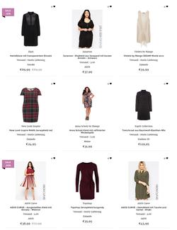 Shop mit Mode für Übergrößen