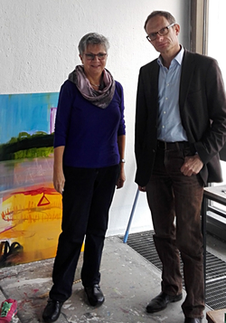 MdL Lerch und Rektor Dr. Henatsch
