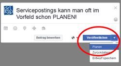 Facebook im Bioladen - Inhalte