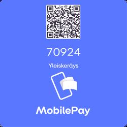 Voit lahjoittaa myös MobilePaylla