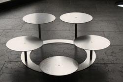 tortenetagere acryl tortenst nder 3 st ckig tortenetageren aluminium. Black Bedroom Furniture Sets. Home Design Ideas