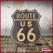 15,2 x 30,5 cm Heimwanddekoration Nummernschild Vintage Plakette Edwiin Jackson USA State California Route 66 Aluminium Blechschild
