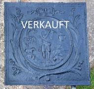 Antikas T/ürknauf wetterfest schwarz feststehend antike Eisenbeschl/äge Haust/ür