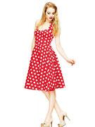 9aa20fc0f66b Kleider   Röcke Rockabilly Petticoat Kleid - Rockabilly Fashion ...