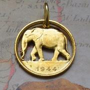 Belgisch Kongo Münzsägewerk