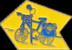 Anstecker Jakobskreuz Pin