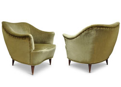 Divani e Poltrone vintage retro\' anni \'40s -\'50s - Italian Vintage Sofa