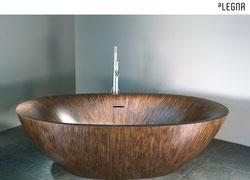 Fabulous Holz Badewannen aus 100% massivem Edelholz - Badefieber BB05
