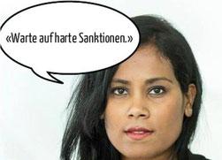 """Aufmacher in der online-News """"watson"""" am 13./14 April: Ein Skandälchen mit einer weithin unbekannten Jungpolitikerin"""