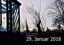 29. Januar 2018 - Winterabend im Klimawandel