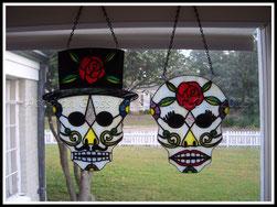 AGA Rose Sugar Skull Couple