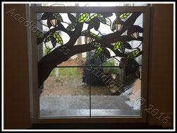 oak tree window