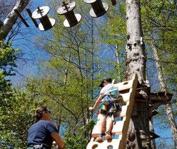 parcours dans les arbres-pyrénées orientales