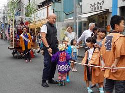 横浜市 南区 お三の宮日枝神社 例大祭