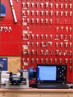 Schlüssel Schlüsseldienst Wand Hamburg