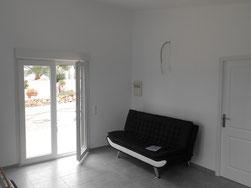 Wohnzimmer fertig renoviert