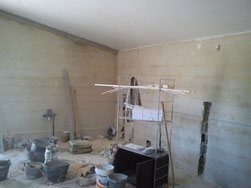 Vorbereitung der Renovierungen