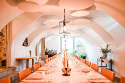 Gewölbekeller, Rittertafelung im Freiamt, einzigartiger Raum