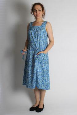 robe coton à bretelles Manon
