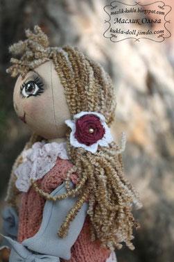 Тыквоголовая куколка. автор Маслик Ольга