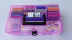 Pixel-Starterset, Box mit 64 Pixelquadrate