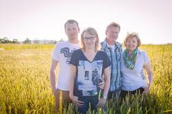 Familie Blank auf ihrem Ferienhof in Bayern