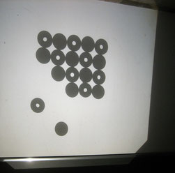 Ionengitter Modell Magnete