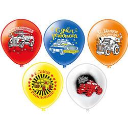 воздушный шар с машинками сыну