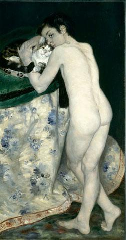 Renoir-le-jeune-garçon-au-chat