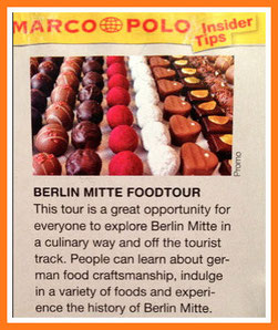 "Insider Tip ""Berlin Mitte Food Tour"" MARCO POLO"