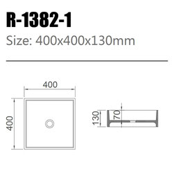 Waschtisch R-1382-1
