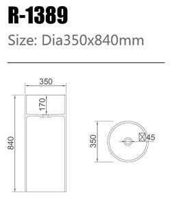 Waschtisch R-1389