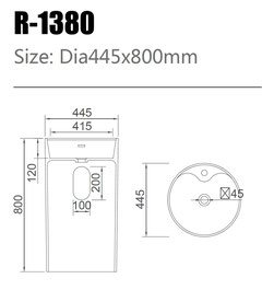 Waschtisch R-1380