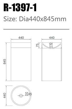 Waschtisch R-1397-1