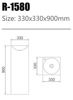 Waschtisch R-1580