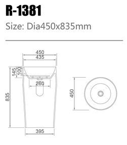 Waschtisch R-1381