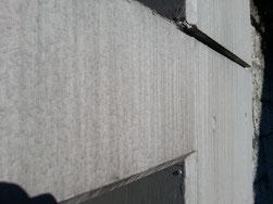 雨垂れで汚れたコンクリート面の施工前