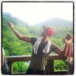 19. August 2013 - Das Foto entstand in einer Tempelanlage in Japan.